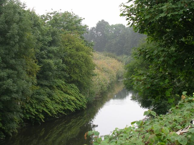 River Mersey from Flixton Bridge
