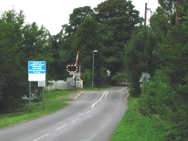 Brooksby Level Crossing