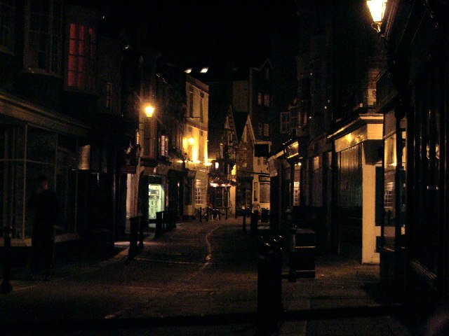 Hastings Old Town at Night