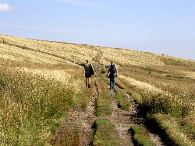 The track to Dale Edge