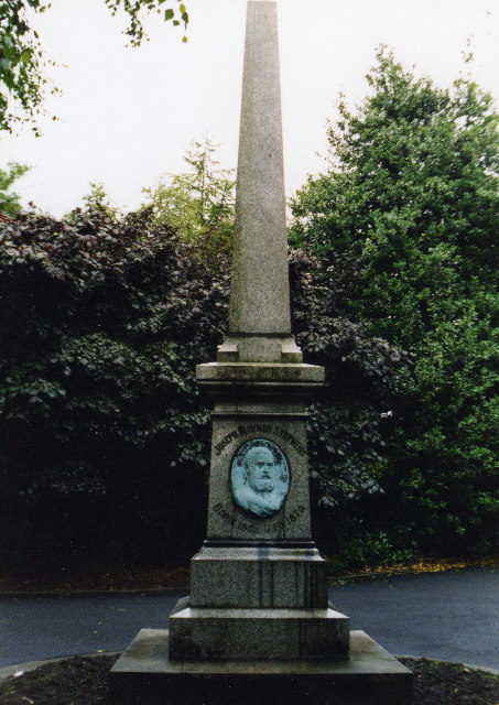Stephens Memorial, Stamford Park, Stalybridge