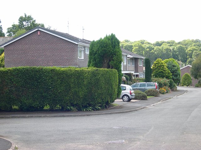 Modern housing estate, Yealmpton