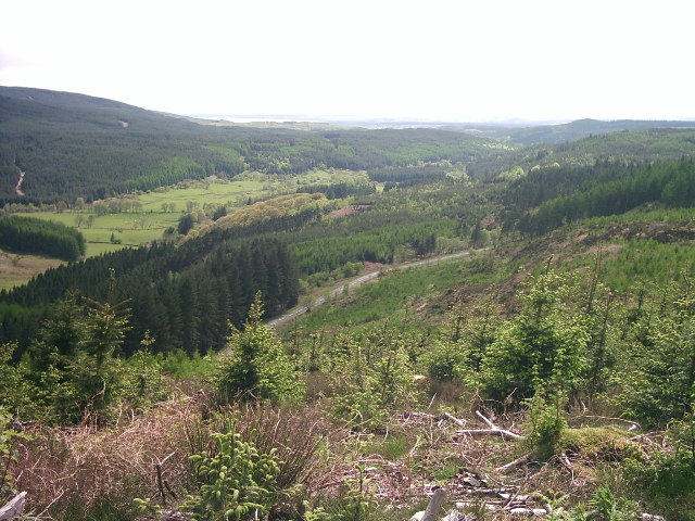 View from Talnotrie Hill