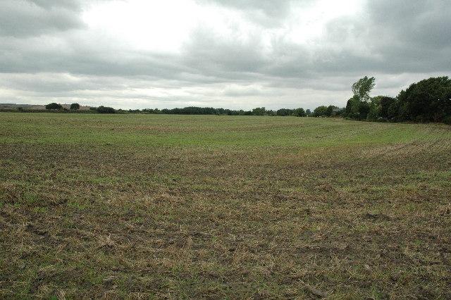 Farm land near Culcheth