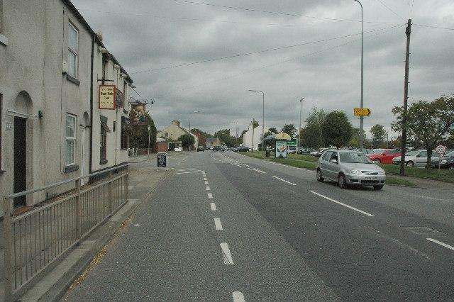 Warrington Road, Glazebury