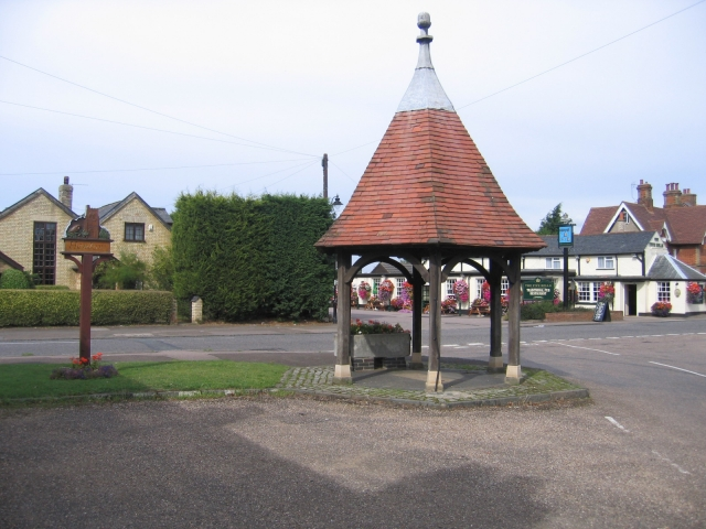 Village centre, Henlow, Beds