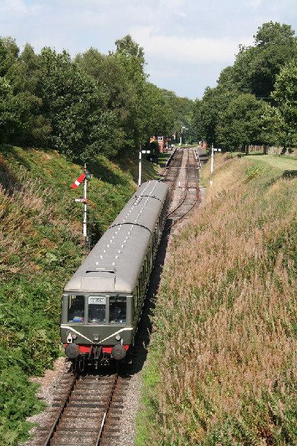 Crowcombe: West Somerset Railway