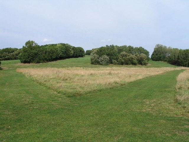 Gloucester Park Basildon - A quiet corner