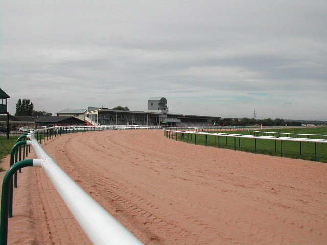 The stands, Southwell Racecourse