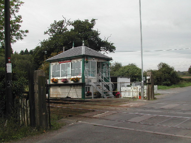 Signal Box, Fiskerton