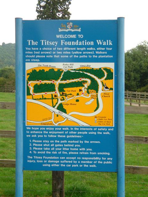 The Titsey Foundation Walk, Limpsfield, Surrey RH8