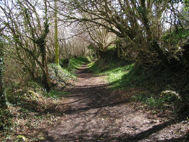 Footpath near Rescorla