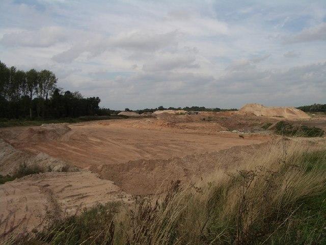 Berkswell Quarry, eastern end