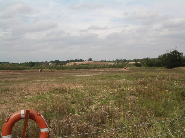 Berkswell Quarry being worked