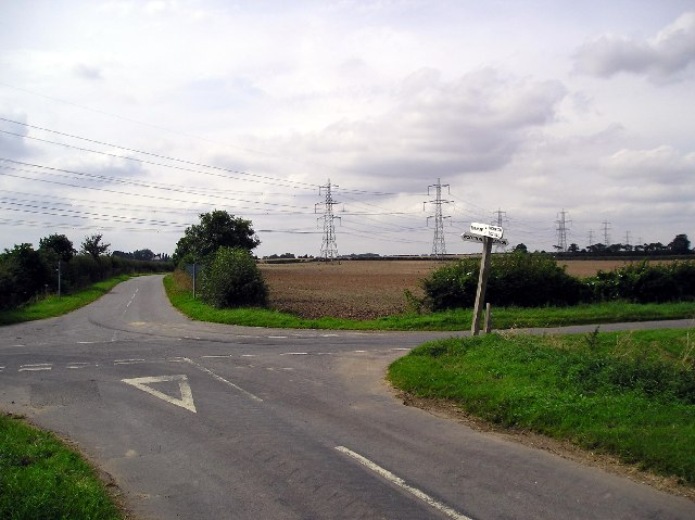 The road from Thornton Curtis to Burnham
