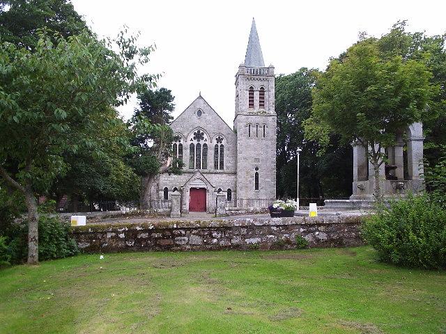 A Church in Golspie