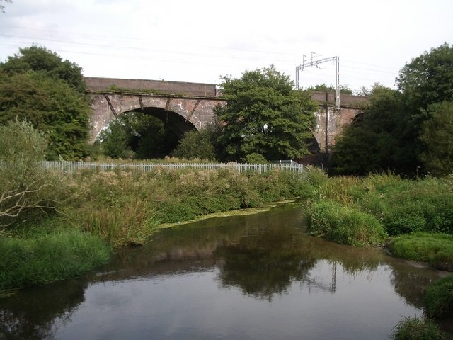 Railway bridge over the River Blythe