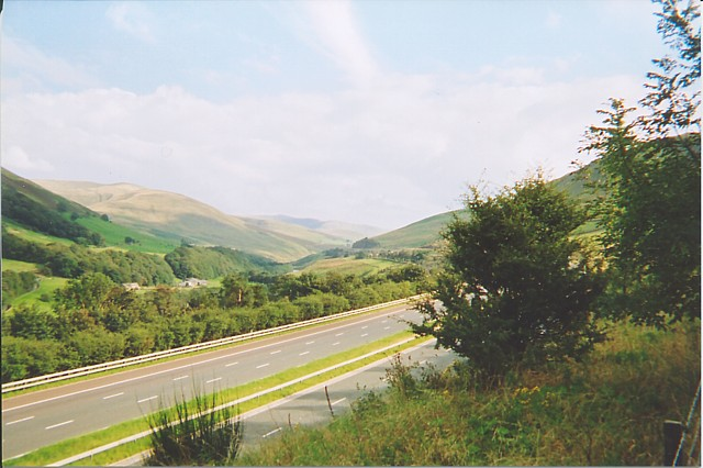 The Lune Valley near Tebay