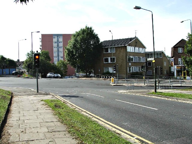Junction of Park Road and Cat Hill, Barnet