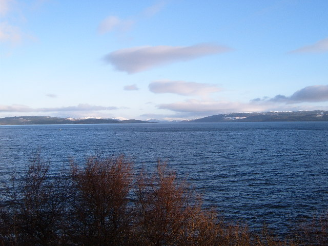 View from Barmore Island across Loch Fyne