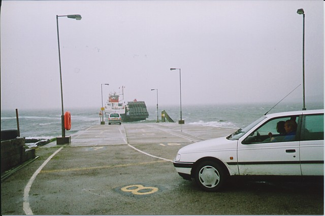 The Jetty at Claonaig