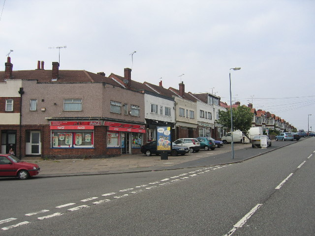 Grayswood Avenue shops, Coventry
