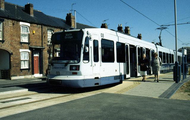 Malinbridge tram terminus