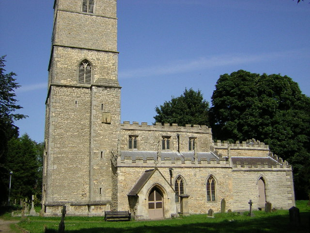 St.Andrew's church, Redbourne, Lincs.