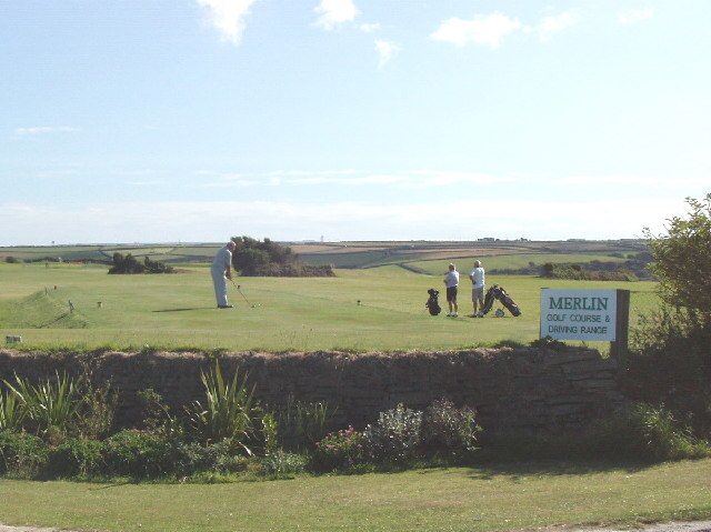 Merlin Golf Course, Mawgan Porth