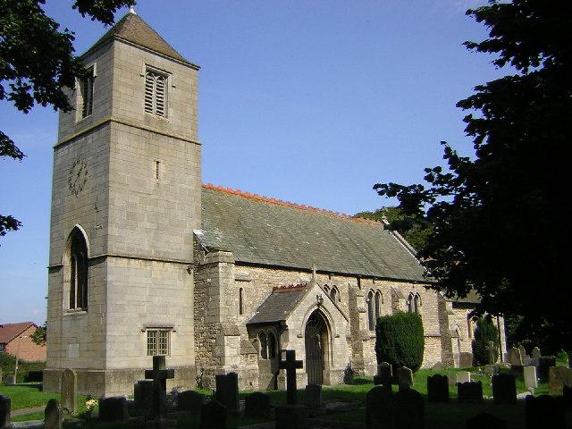 St.Hibald's church, Hibaldstow, Lincs.