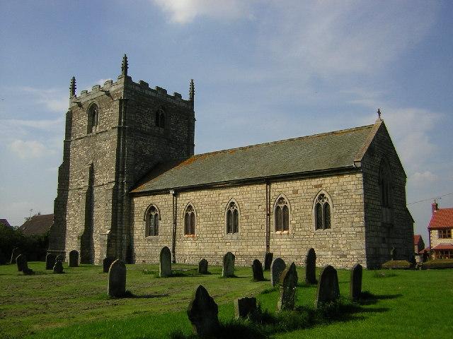 St.Radegunda's church, Grayingham, Lincs.