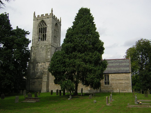 St.Oswald's church, Dunham-on-Trent, Notts.