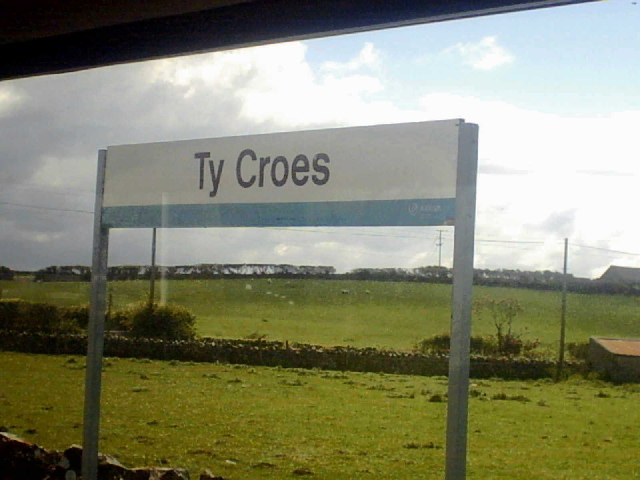 Ty Croes Station