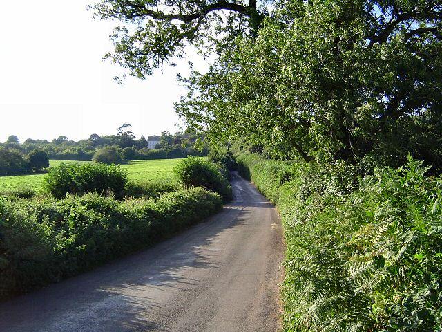 Approaching Aish - South Hams