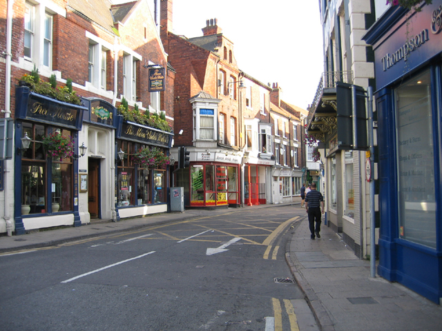 High Street from Bridge Foot, Boston, Lincs
