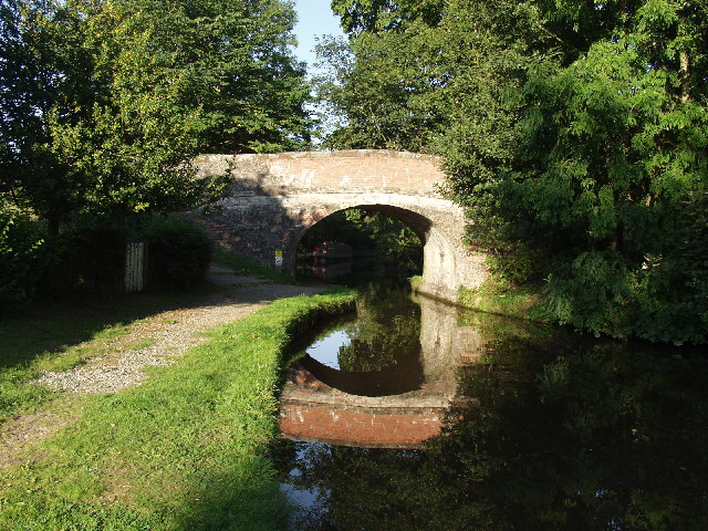 Bridge at Henlle Hall,  Chirk Bank