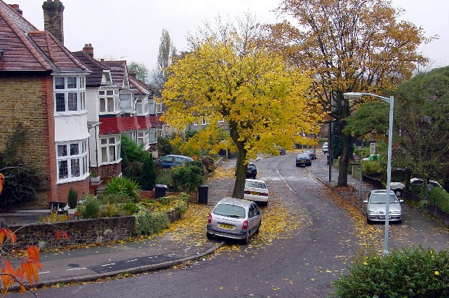 Hengrave Road - Autumn