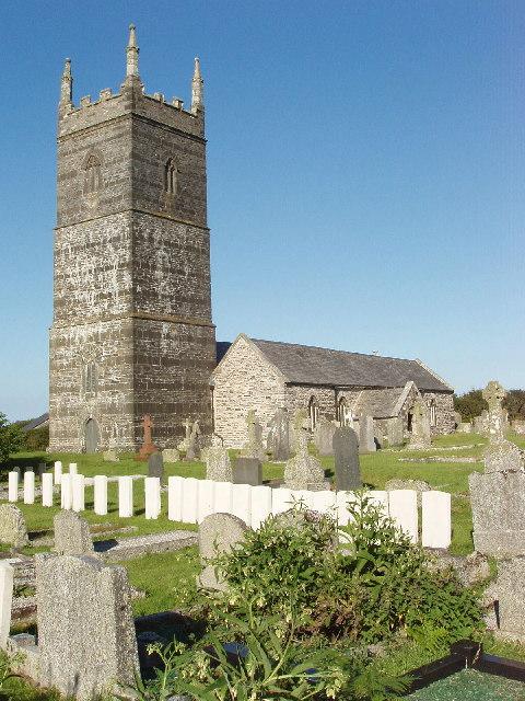 War graves at St Eval Church