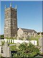 SW8769 : War graves at St Eval Church by David Hawgood