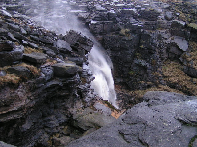 Kinder Downfall after rain