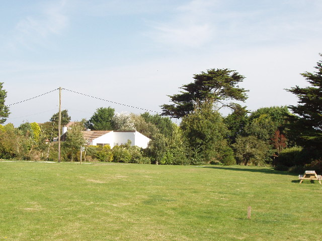 Towan village green