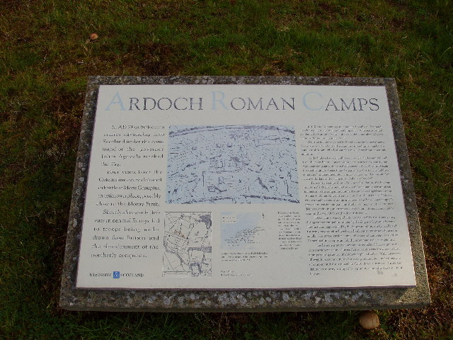 Ardoch Roman Camp Sign