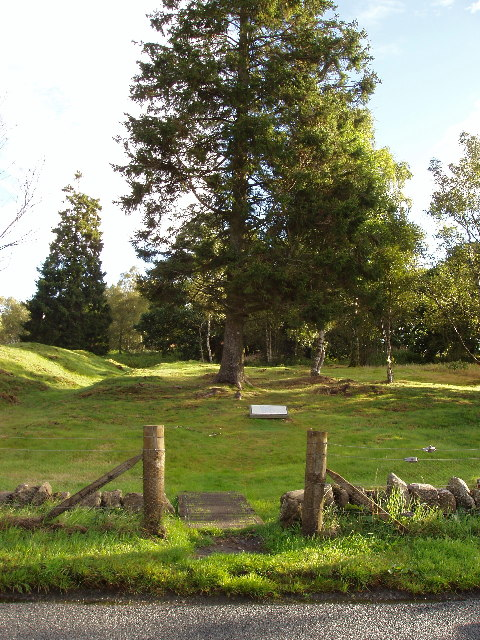 Entrance into Ardoch Roman Camp