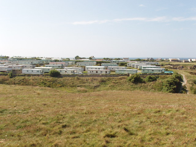 Caravan site at Mother Ivey's Bay