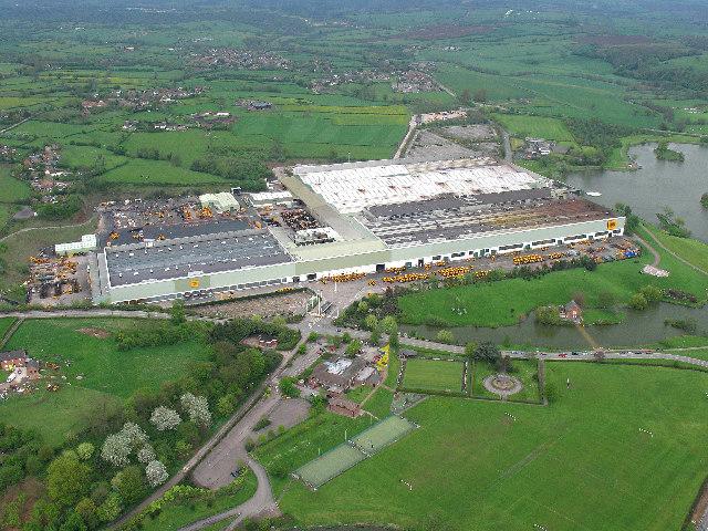 JCB Factory, Rocester, near Uttoxeter
