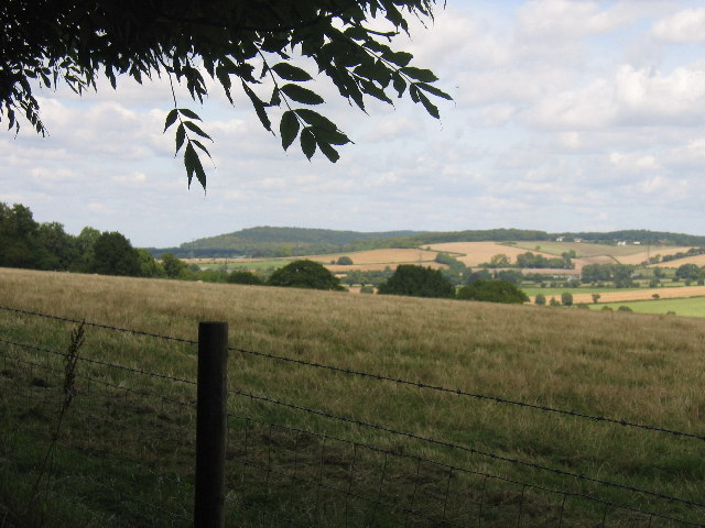 Across the valley with Boddington Hill in the distance