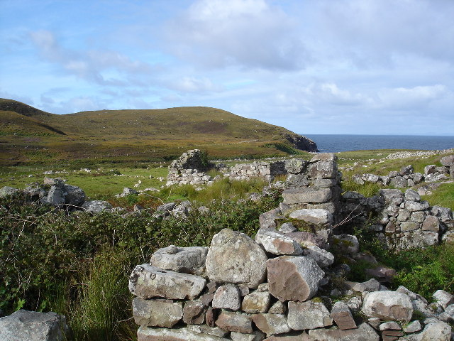 Ruined village of Slaggan