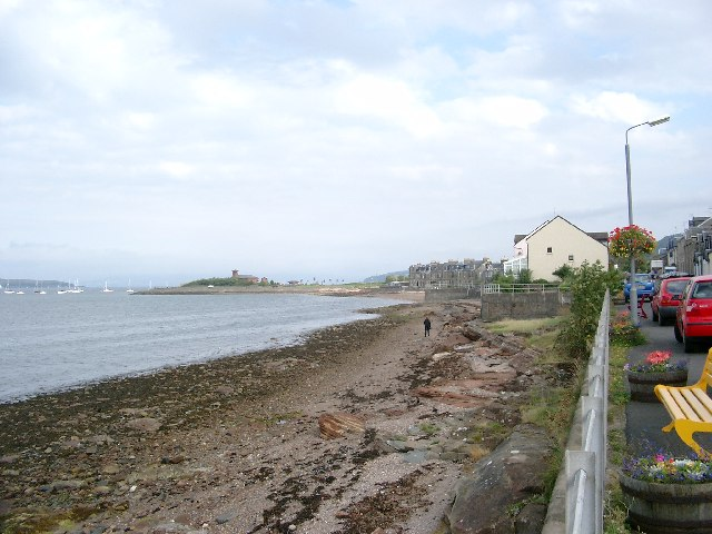 Foreshore at Fairlie