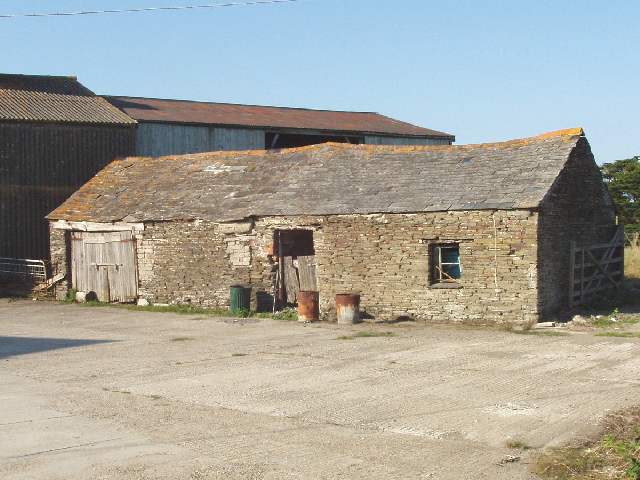 Barn at Tregolds, near St Merryn