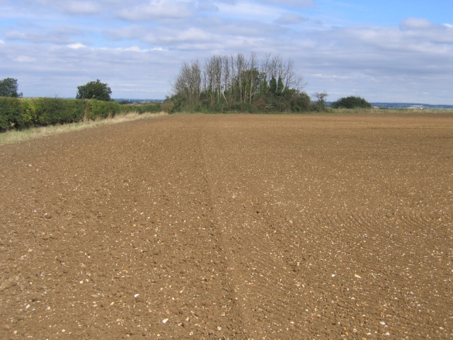 View towards Edworth Road, Astwick, Beds
